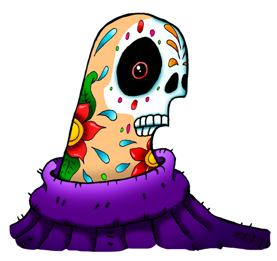 diadelasmuertos_sticker
